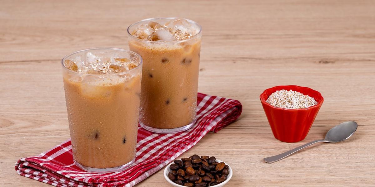 Agua de café con amaranto