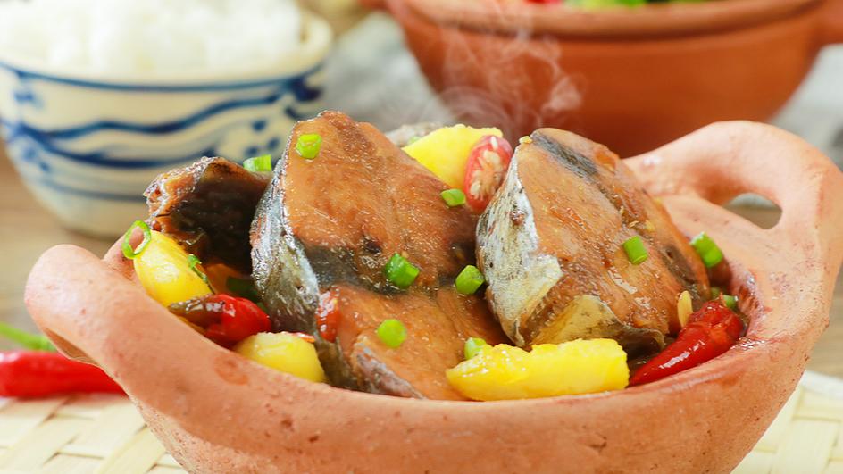 Cá Ngừ Kho Thơm